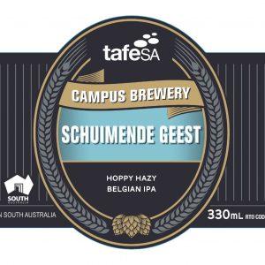 Label Image Schuimende Geest