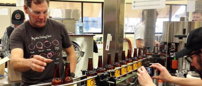 Campus Brewery Bottling Line